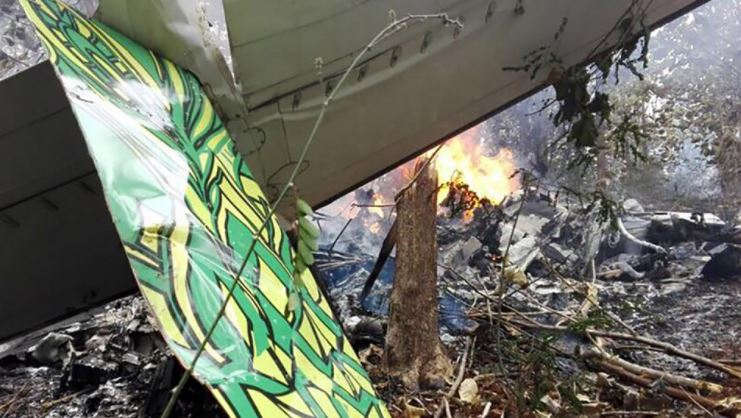 Winds seen as factor in Costa Rica plane crash that killed 12