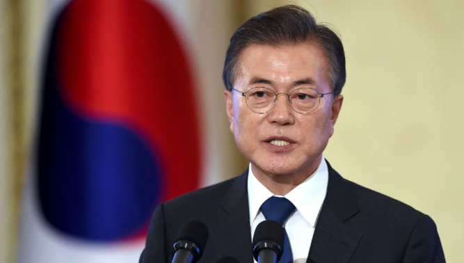 South Korean leader insists North must denuclearize