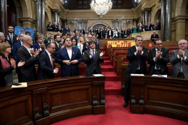 Catalan parliament to meet, but without sacked leader