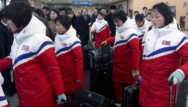 N. Korean Olympians enter South to form unified team