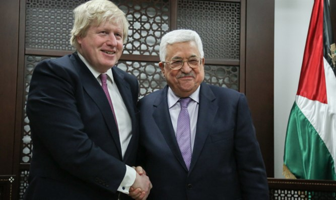 Palestinian president, UK FM discuss regional issues