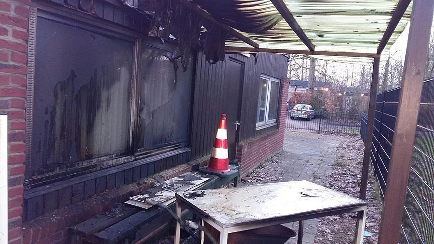 Mosque comes under attack in northern Netherlands
