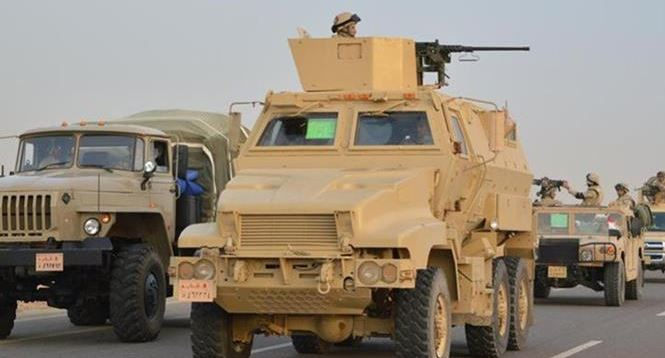 Two soldiers killed in Egypt's Sinai