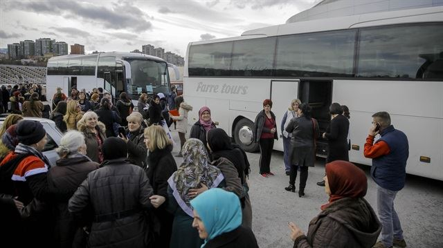 70 more Syrians in Turkey return to their country