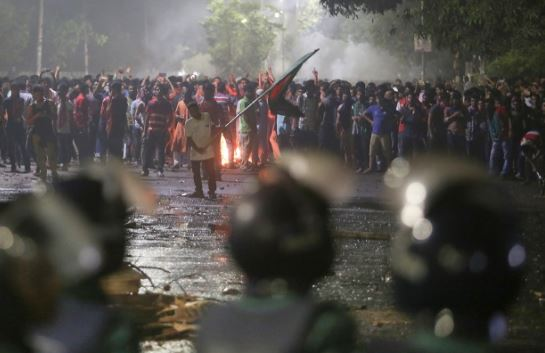 Bangladesh detains dozens in student protest crackdown