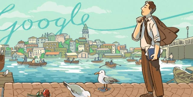 Google marks Turkish poet's 104th birthday