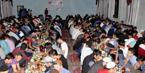Turkey organizes iftar for Kyrgyz Muslims