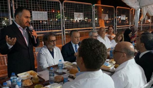 Jewish community holds iftar dinner in Turkey