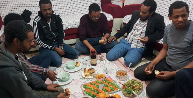 Ethiopians in Turkish capital break fast together