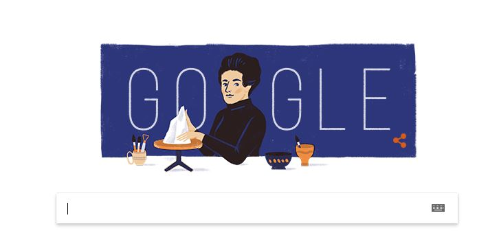 Google doodle marks Turkish ceramic artist's birthday