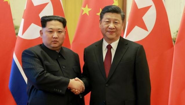 Kim meets China's Xi following Trump summit
