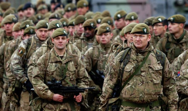 UK to deploy troops in Kuwait