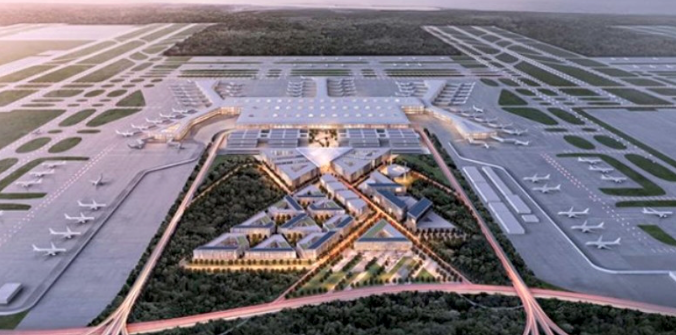 Turkish Cyprus, Azerbaijan first stops from mega airport