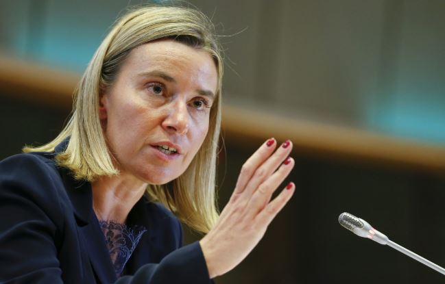 Mogherini urges EU for responsibility on migrant mission