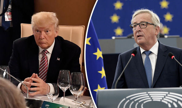 EU's Juncker in last-ditch bid to end Trump trade war