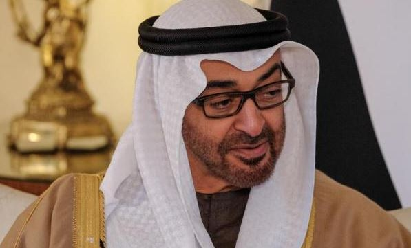 Abu Dhabi prince arrives in Cairo for talks