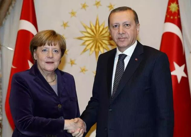 Turkey's Erdogan, Merkel discuss developments on phone