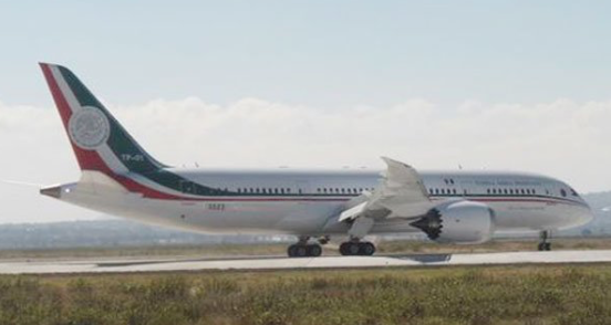 Mexico businessman wants to buy presidential plane for $99 mln