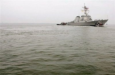Chinese warship in Cyprus for Syrian weapons removal