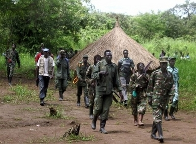Man claiming to be LRA commander surrenders in Central Africa
