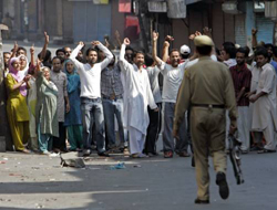 Eight killed in Indian-held Kashmir clashes