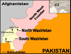 23 suspected fighters killed in N.Waziristan