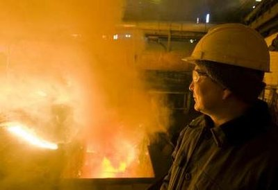 World steel production increased by 3.6 percent