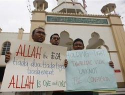 Malaysian court rules against use of 'Allah' by church