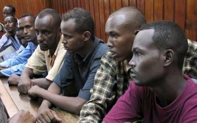 Kenya jails seven Somalis to 20 years for 'piracy'