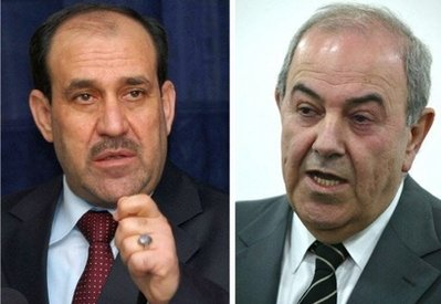 Allawi warns risk of Iraq's dismemberment unless Maliki goes