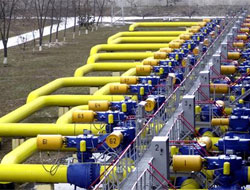 Russian Gazprom transfers additional natural gas to Turkey