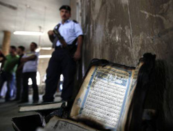 Israeli settlers set fire to mosque in occupied West Bank