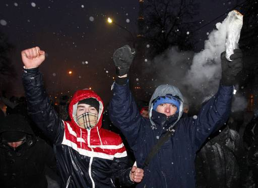 Anti-migrant riot erupts in southern Moscow