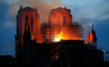 Fire in Notre-Dame 'deeply upset us': Turkish president