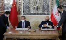 Iranians protest cooperation pact with China