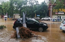 Death toll in China floods rises to 33, 8 missing