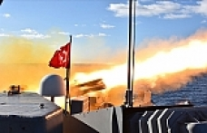 Turkey conducts submarine defense rocket fire drill