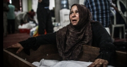 Funerals of slain protesters in Egypt