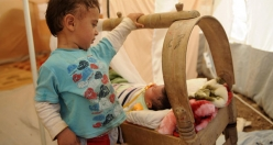 Syrian children struggle to survive in refugee camps