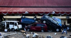 The consequences of the earthquake in Indonesia