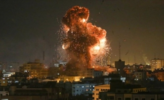 Israel launches airstrikes on Gaza Strip