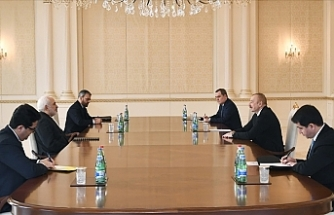 Azerbaijani leader, top Iranian diplomat meet in Baku