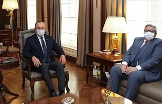 Turkish foreign minister meets Russian envoy