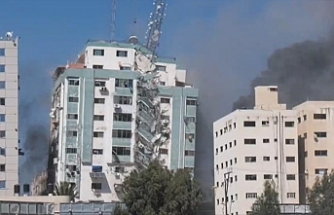 Amnesty calls for investigation into Israeli bombing of Gaza media tower