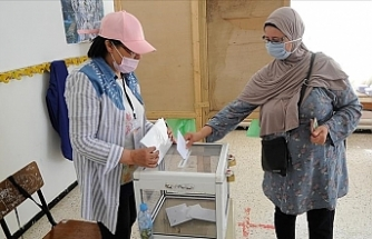 Algeria's National Liberation Front leads in parliamentary polls