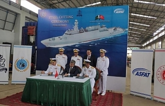 Pakistan holds ground-breaking ceremony for 4th Turkish corvette