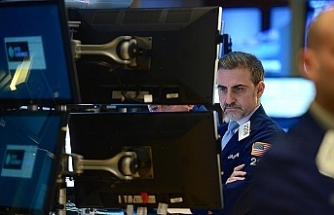US stocks open mixed before Fed projections