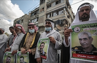 Palestinians stage hunger strike to protest Israel's detention policy