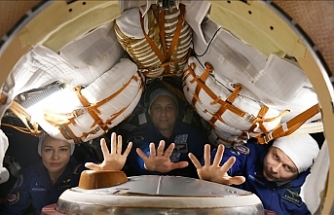 Russia launches spacecraft to shoot world's 1st movie in space