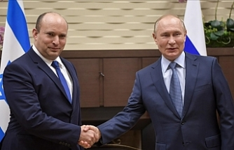 Russian president holds 1st meeting with Israeli premier